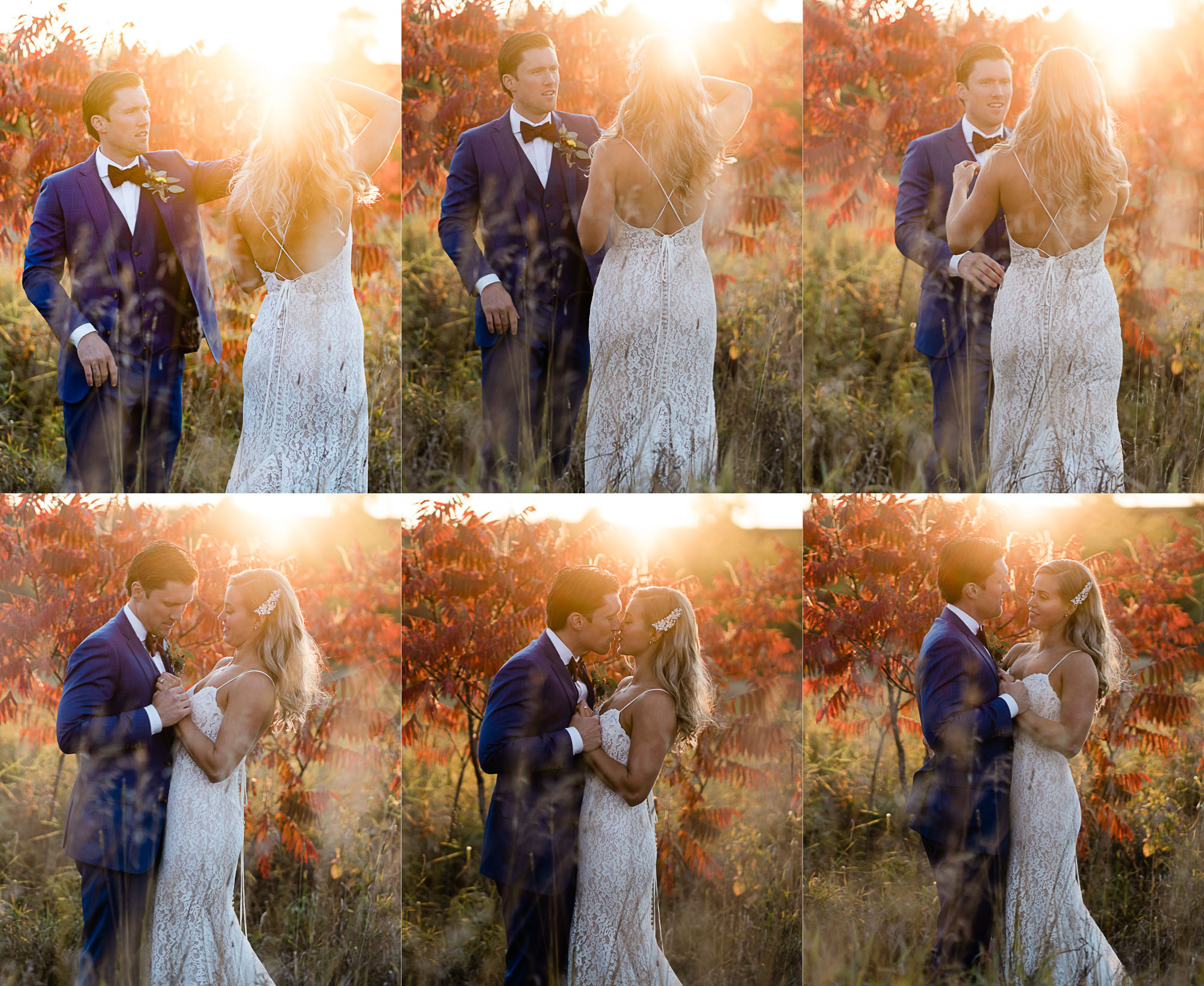 bride and groom photos at Century Barn weddings