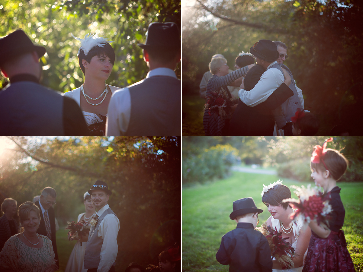 Cobourg Outdoor Wedding