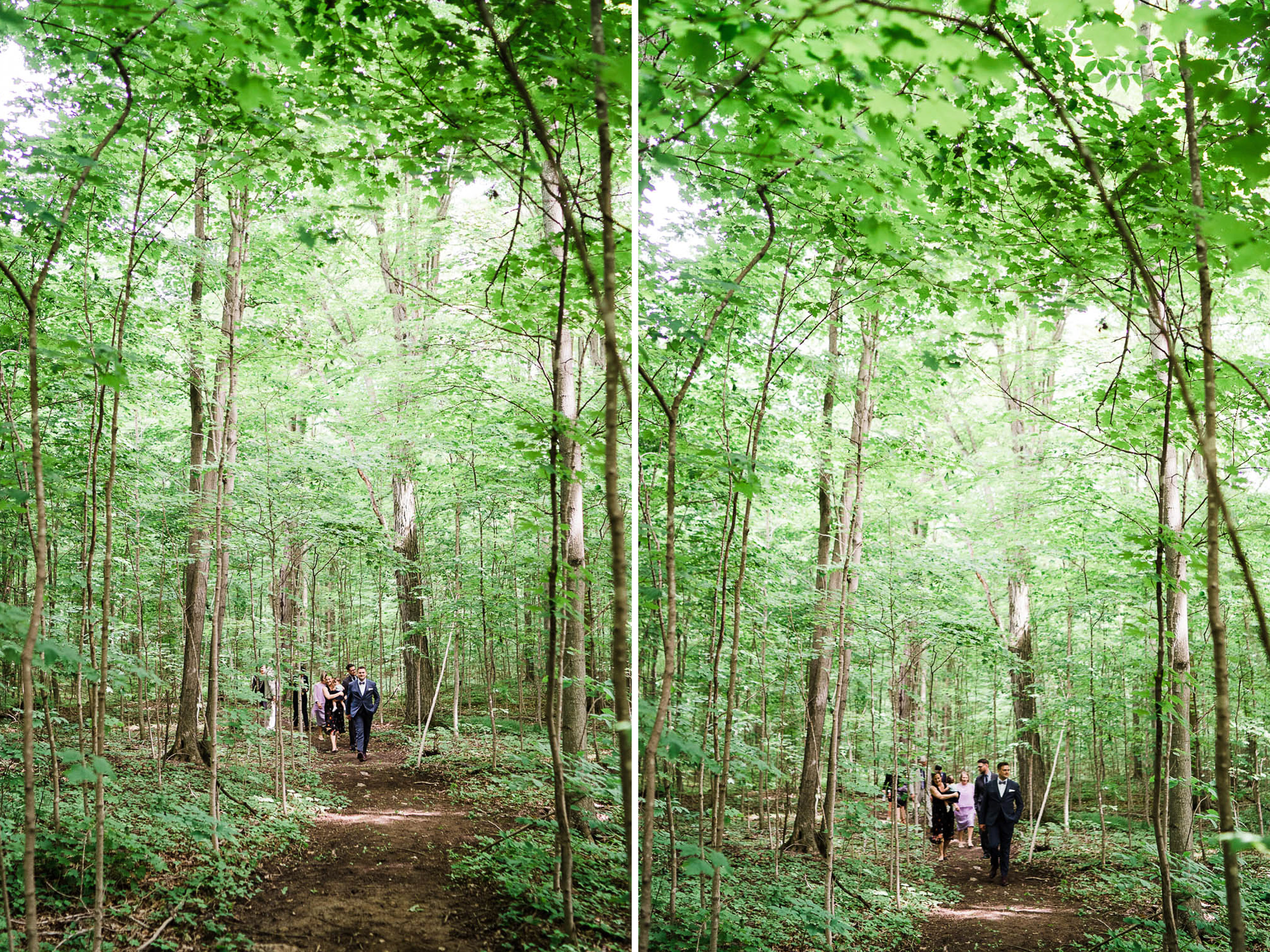 Gorgeous forest wedding.