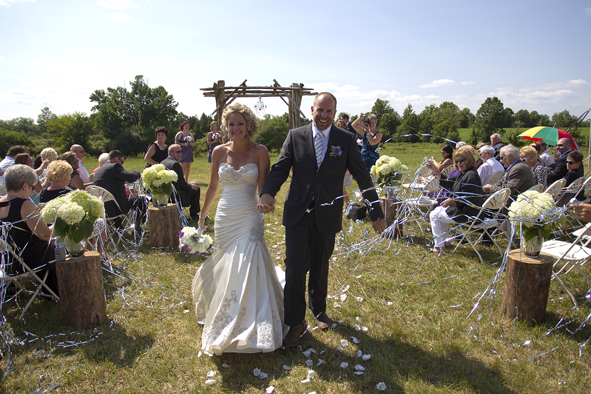 Country Wedding Kawartha Lakes