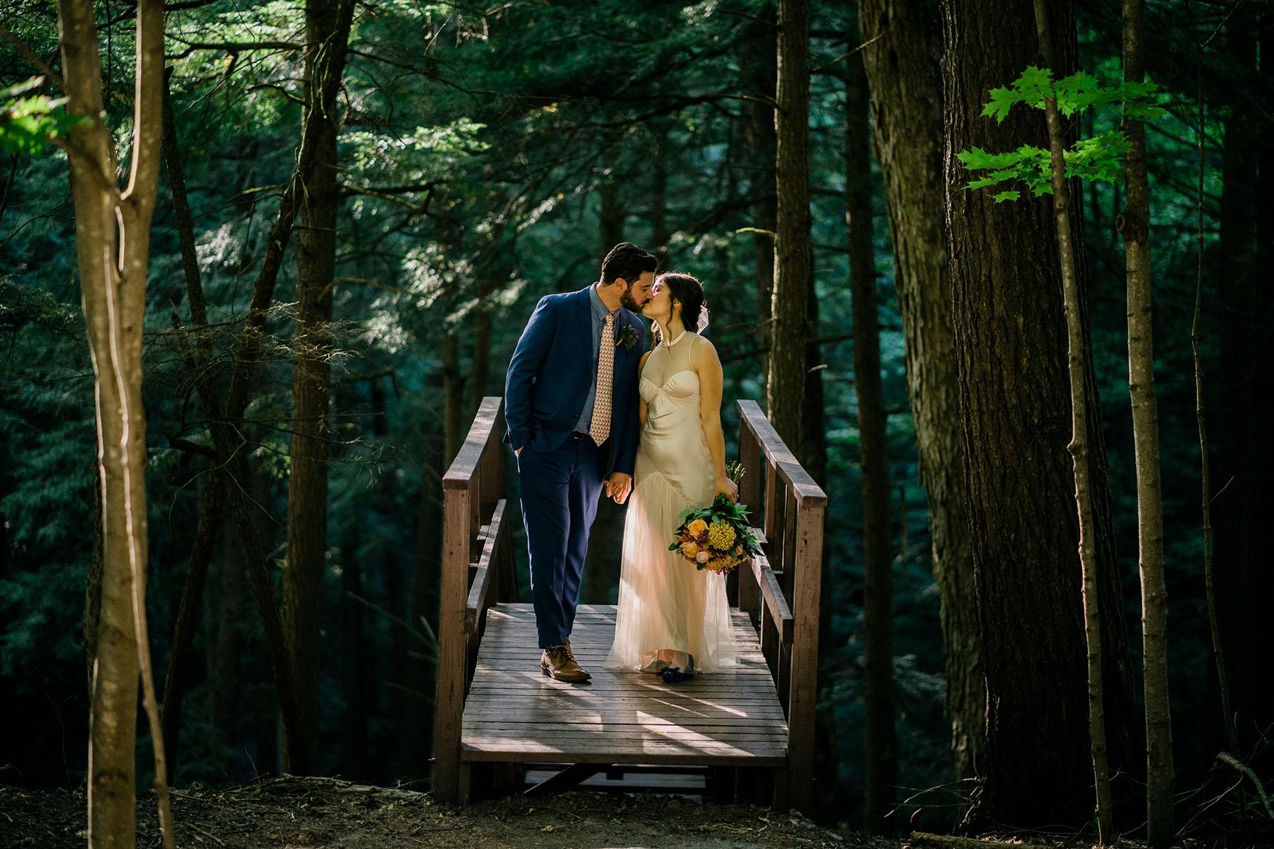 Wedding at the Ganaraska forest