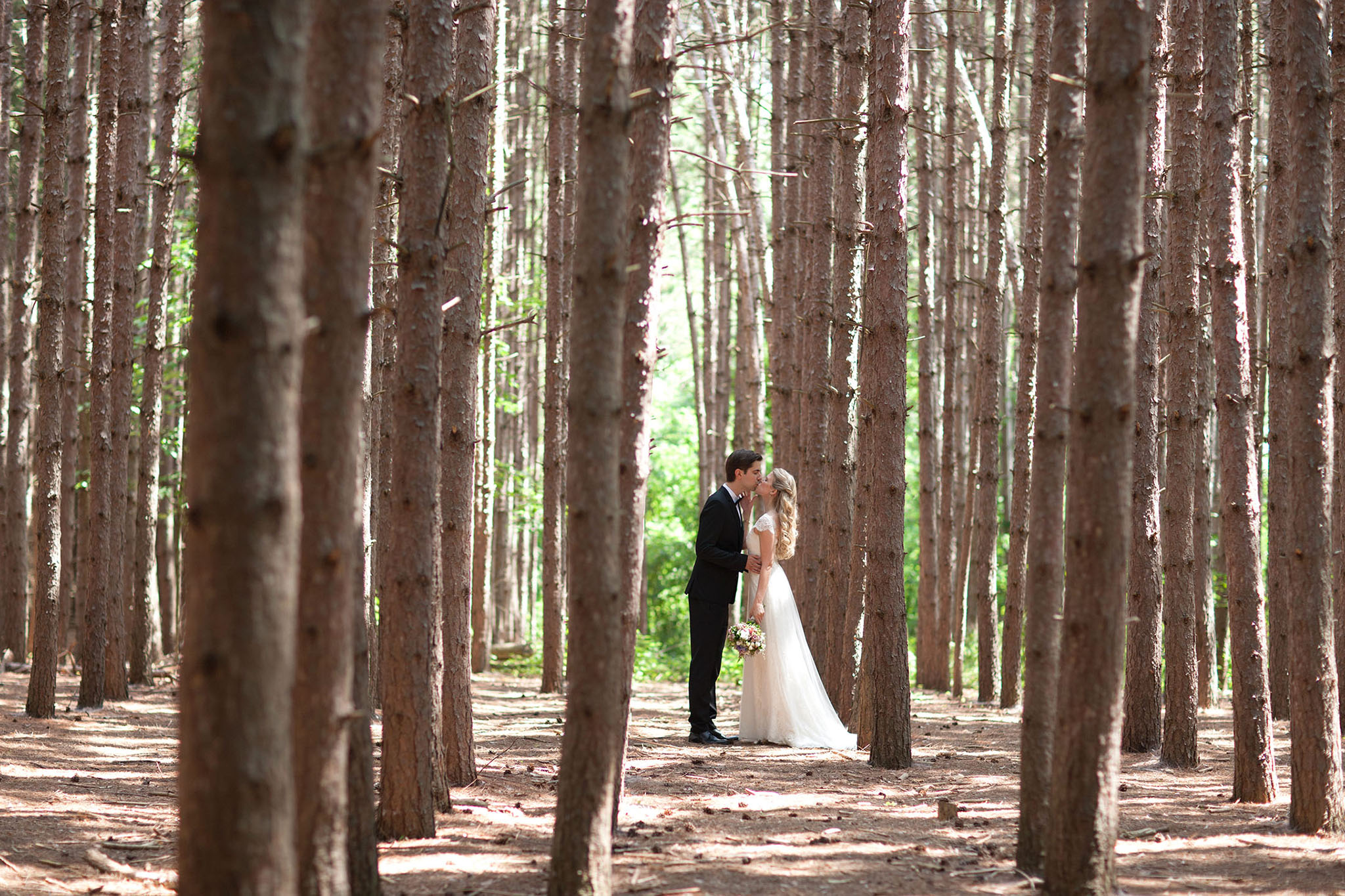 Wedding at the Kortright Centre in Toronto