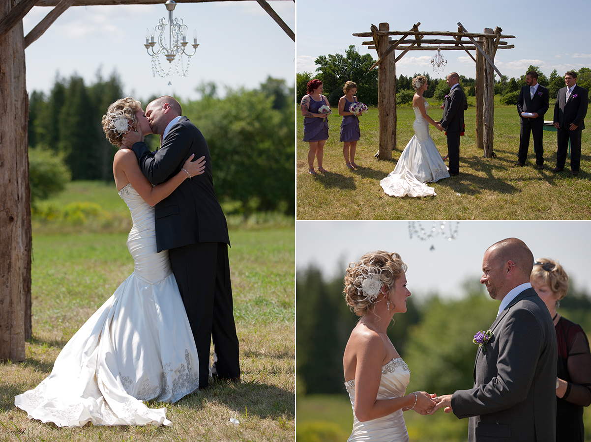 Rustic Wedding Kawartha